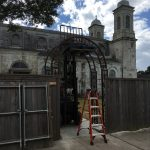 Marigny Opera House gate installation