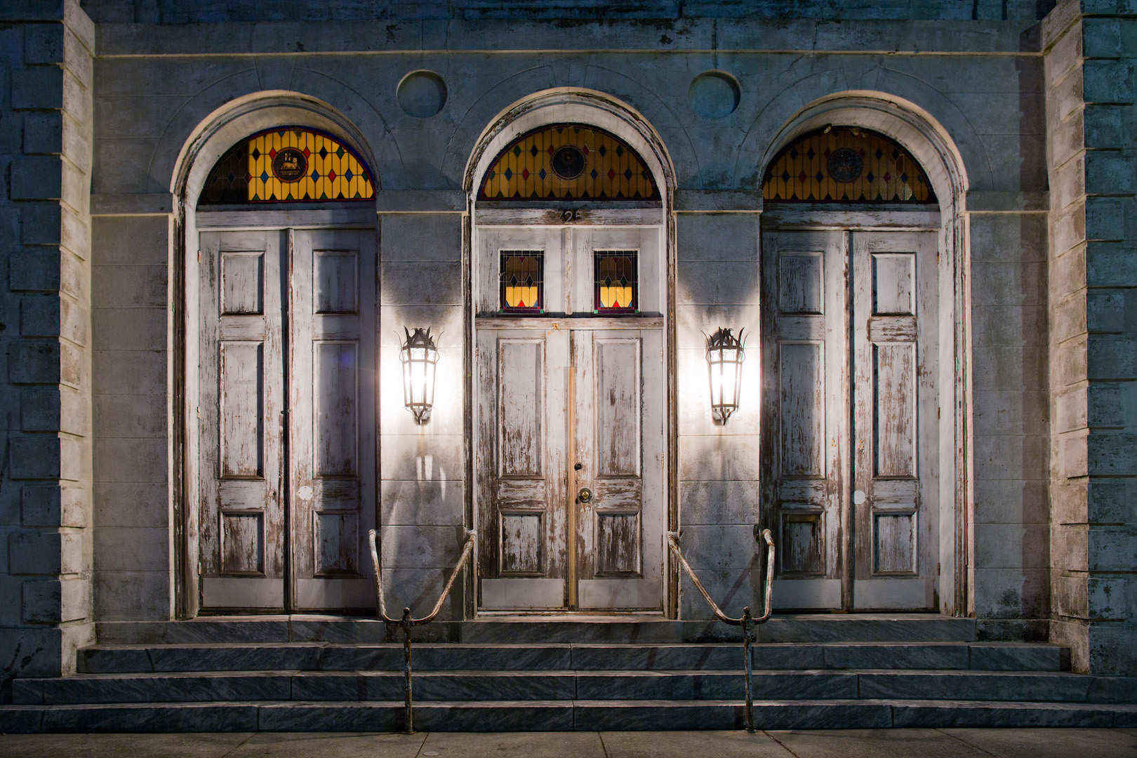 Exterior of Marigny Opera House