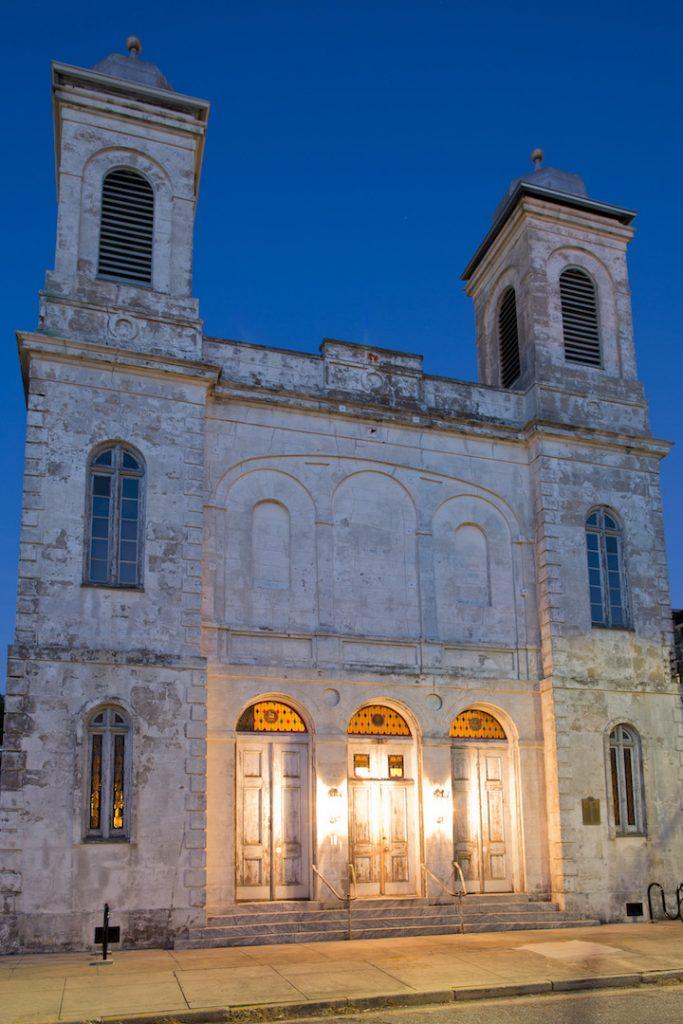 Exterior Of Marigny Opera House